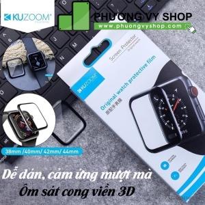 Dán dẻo 3D full màn hình Apple Watch 42mm hiệu Kuzoom